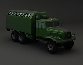 3D Truck KRAZ 255 B Modify 4