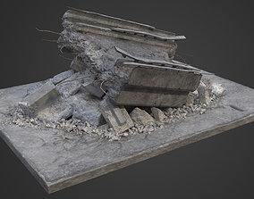 Bridge Damaged Element 3D model