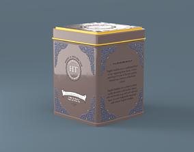 Tea Box 3D model PBR