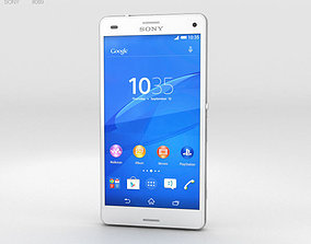 Sony Xperia Z3 Compact White 3D model