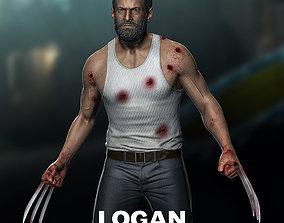 3D print model Hugh Jackman - Logan
