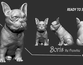 Frenchie Bulldog 3D printable model