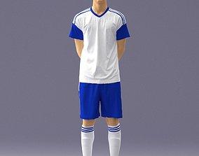 3D model Soccer player 1114-5