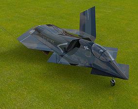 YF-23 Phantom for 3ds and obj