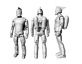 Rocketeer articulated action figure 3D printable model