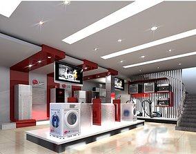 3D Model Appliance Store warehouse