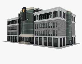 Court Building 3D model