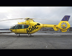 Eurocopter EC 135 Emergency Helicopter 3D