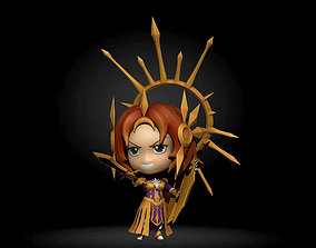 Leona lol chibi 3D printable model