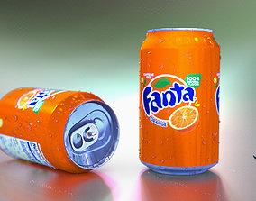 3D model Fanta Can