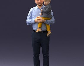 Father and son 1206 3D Print Ready