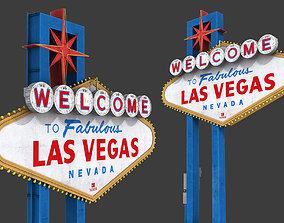 Las Vegas Sign 3D model