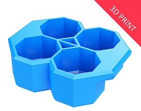 Crate Unity 05 for 4 Cans 350ml 3D print model