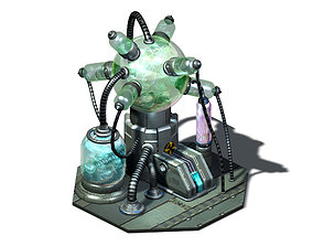 Machinery - Spacecraft - Functional Objects 09 3D