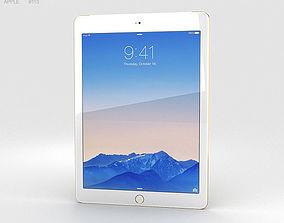 3D Apple iPad Air 2 Cellular 24K Gold