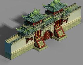 3D tANG Gang Building - City Gate