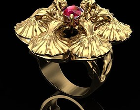 3D print model Ring the dance