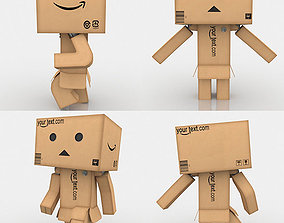 Danbo Full Rigged 3D asset