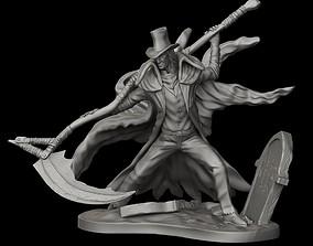 Gerhman Bloodborne miniature 40mm 32-35 mm scale 3D model