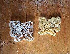Bird cookie cutter 3D printable model