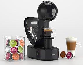 3D model Coffee machine Nescafe Dolce Gusto Krups