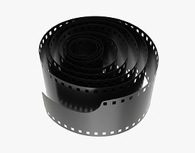 3D model Photographic film roll