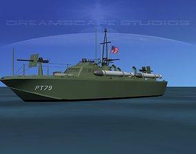 3D Patrol Torpedo Boat PT79