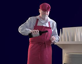 Bernd 10152 - Standing Winegrower 3D model