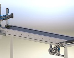 Automated Conveyor 3D model