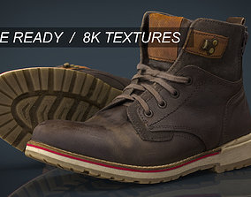 Hiking Boots 2 3D model