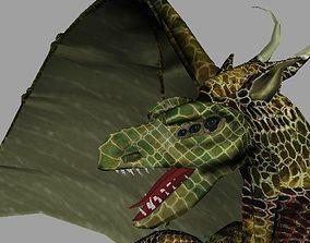 Puff The Magic Dragon AAA 3D model