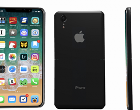Iphone XR Apple Phone 3D Model