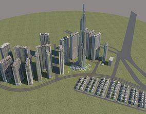 Landmark 81 building 3d model