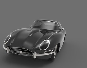 Jaguar E type 1961 3D model