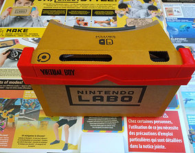 Customized frams for Nintendo labo vr-kit 3D print model