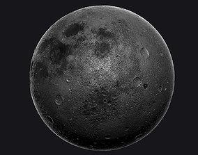 3D model Moon High Poly