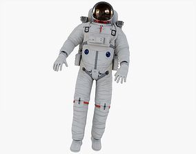 Astronaut Rigged Animated 3D model