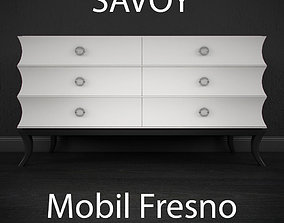Mobilfresno Savoy Collection Dresser 3D