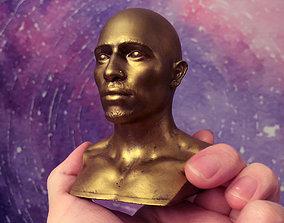 3D print model Tupac 2pac Shakur Bust Sculpture
