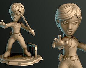 SIMPLES - Luke Skywalker 3D print model