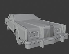 Lincoln Continental Mark V Car 3D asset