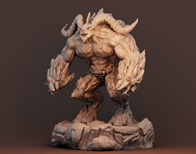 dark 3D print model demon