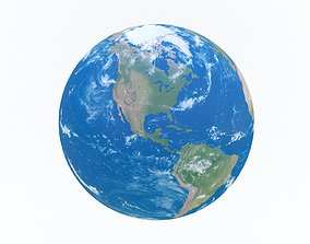 3D asset Earth 4K