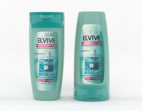 3D LOreal Paris Elvive Shampoo and Conditioner