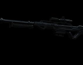 3D XPR 50 Sniper Rifle