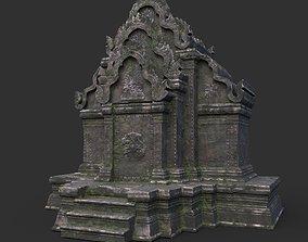 3D model Ruin Ancient Temple - Khmer Architecture B 03