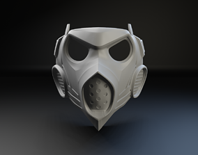 demon Scorpion Mask Mortal Combat 3D print model