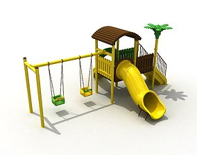3D Metal Forest Playground 43