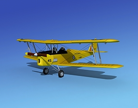 3D Dehavilland DH82 Tiger Moth RAAF