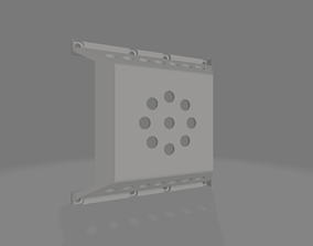 RC4WD TF2 TRANSFER CASE COVER 3D print model